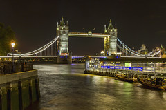Tower Bridge (Kev Gregory (General)) Tags: tower bridge combined bascule suspension london built 1886 1894 crosses river thames iconic symbol house estates charitable trust city corporation southwark bank northern landfall hamlets krv gregory canon 7d night nighttime time photography