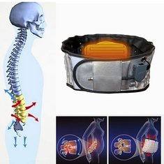 JMRON CR-161 USB Heating Magnetic Lumbar Muscle Strains Dis Waist Tractor Back Support Brace (1066934) #Banggood (SuperDeals.BG) Tags: superdeals banggood health beauty jmron cr161 usb heating magnetic lumbar muscle strains dis waist tractor back support brace 1066934