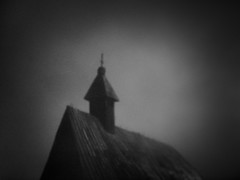 lost in the fog (Neko! Neko! Neko!) Tags: blackandwhite blackwhite bw mono monochrome fog church lost feeling emotion atmosphere symbolic minimal dream subconscious expression expressionism