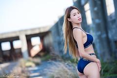 DSC_7415 (Robin Huang 35) Tags: 黃艾比 abbie 彰濱廢墟 彰化 廢墟 內衣 underwear jkf 人像 portrait lady girl nikon d810