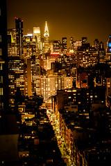 Church Street at Night (cvsta) Tags: city landscape street nyc night lowlight canon 16mm 35mm