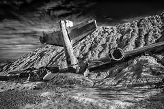 Crashed (nordbyc) Tags: nelson nevada nv abandoned mining camp rusty crusty