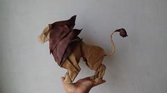 Leon - Nicolas Gajardo (javier vivanco origami) Tags: leon nicolas gajardo origami javier vivanco ica peru