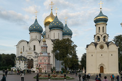 The Trinity-Sergius Lavra (PetrBel) Tags: собор юнеско православие христианство церковь троицесергиевалавра лавра монастырь assumptioncathedral сергиевпосад ring zagorsk christianity historical sergiyev building lavra convent view russia golden cityscape assumption sunny landmark orthodox old destinations posad heritage ancient gilded city exterior church tourism scenery dome summer sergiev unesco vacation national sergius europe cathedral architecture saint famous medieval people religion outdoor site monastery attraction culture temple travel trinity