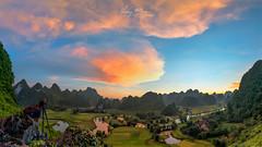 Untitled_Panorama Phong Nậm,Trùng Khánh,Cao Bằng 0917 (HUONGBEO PHOTO) Tags: sigma1224mm sonyilce7r phongnậmcaobằng caobằngmùagặt cảnhđẹpcaobằng cảnhđẹpviệtnam bamboos harvestingseason vietnam asian caobangscenery vietnamscenery vietnamlandscape northeastvietnam peaceful beautiful countryside village view bluesky sunset terraces ricefield mountains clouds landscape highland outdoor