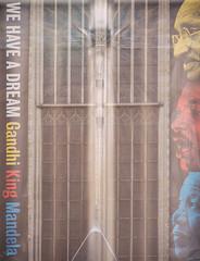 They had a dream (M. Van Cauteren) Tags: amsterdam gandhi king mandela pentaxk1 streetview