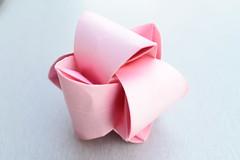 Fugu (Andrey Hechuev | Андрей Хечуев) Tags: annaalekseeva fugu fugukusudamam kusudama modularorigami origamimodular modular origami dobradura papiroflexia pink rose rosa fuxia