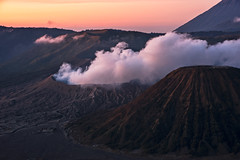 Bromo Rise (...Iwonttell) Tags: gunungbromo bromo volcano java indonesia travel explore wanderlust landscape smoke mountain sunrise colourful colours