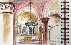 Intérieur de l'Abbaye d'Ainay. Lyon 2° (geneterre69) Tags: abbaye lyon ainay intérieur