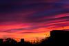 October sunset - Milano (DecaFlea) Tags: milan milano italia italy hangar bicocca art color light dark darkness fontana lucio tramonto sunset october colors sky red