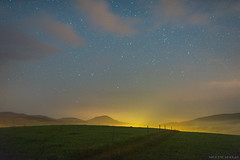 Follow the stars (Piotr Potepa) Tags: night nightscapes sky nightsky stars landscape lightpollution piotrpotepa poland
