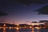 The cranes (Geo.M) Tags: cranes commerce commercial harbour port lights sunset long exposure greece greek photographers volos clouds dark sky seascape georgios miliokas photography urban night shoot city spot