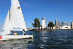 IMG_0570 (Foundry216) Tags: sailing sailor lake erie sail c420 water sports thisiscle cleveland