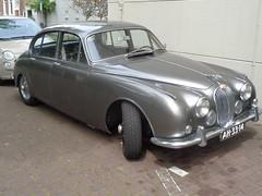 1968 Jaguar Mark II 3.4 Litre (Skitmeister) Tags: ah3314 carspot car auto pkw holland nederland niederlande netherlands skitmeister 2017