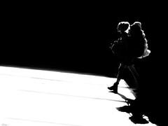 I believe in angels (René Mollet) Tags: angel woman blackandwhite silhouette shadow street streetphotography streetart streetphotographiebw sunrise pray urban urbanstreet candite