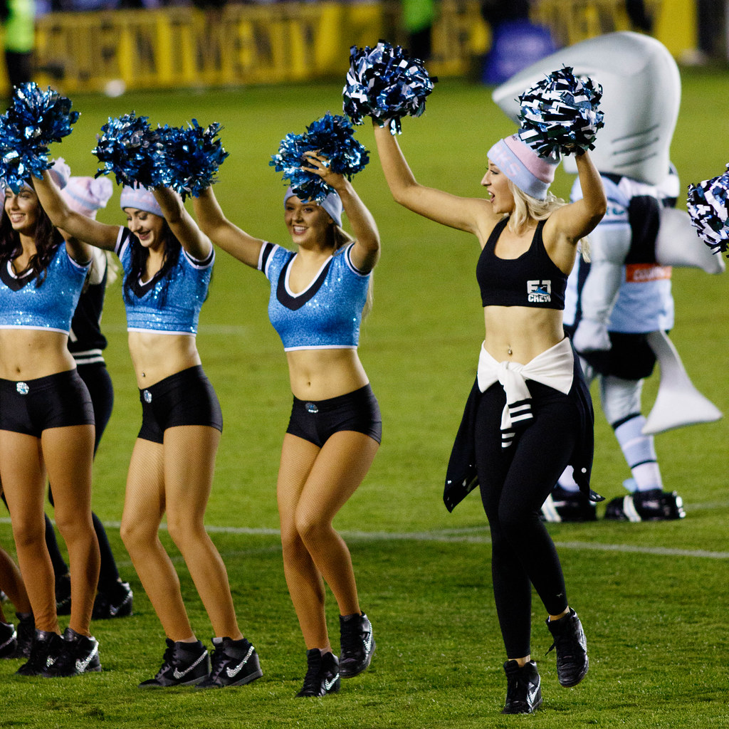 the cheerleader dancing as a sport Hidden in the fog of professional sports tradition, cheerleading remains a sexist then why aren't there scantily dressed male cheerleaders and dance.