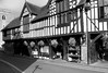 much wenlock market hall black and white (downhamdave) Tags: black white bw mono monochrome fuji fujifilm x30 compact camera much wenlock market hall town shropshire west midlands england uk tudor