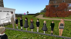 Page 18 - Today a giant joined our ranks (cadeSL) Tags: school students pupils inspection line church uniform sl boys girls giant children secondlife second life hair st columba catholic boarding rp roleplay role play