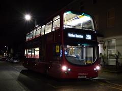 Hybridshire (londonbusexplorer) Tags: london sovereign ratp group volvo b5lh wrightbus gemini 2 vh10 vh45110 bd13oje 258 south harrow watford junction tfl buses