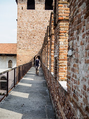 P9285378.jpg (marius.vochin) Tags: castle oneman outside travel museum landmark trip italy watchtower tower castelvecchio verona fortication veneto it