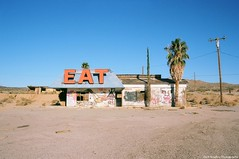 I can see it all just beyond our window (Zach Bradley Photography) Tags: abandoned film mojavedesert halloransprings barstow california explore nicoledollanganger filmisnotdead indie emophotography places wanderlust southwest zachbradley eat ghostsinlove 35mm