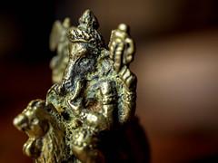 283.365 Elephant Rides Mouse (marcy0414) Tags: thailand macro amulet macromonday macromondays souvenir trinket