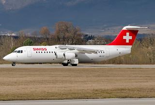HB-IYZ  Swiss International Air Lines British Aerospace Avro 146-RJ100