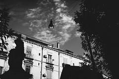 Piazza Bellini (Vincenzo Lavino Fotografia) Tags: naples italy clouds canon5dmarkii wide canonofficial landscape sunset napoli piazzabellini photovogue vogue annunciincitta wallpaert bw