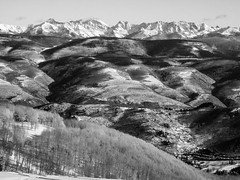 Rocky Mountains Beaver Creek (Mabry Campbell) Tags: beavercreek co colorado houstonphotographer us usa unitedstates unitedstatesofamerica blackandwhite cold fineartphotography image landscape mountain mountains photo photograph photographer photography rockymountains snow trees winter f58 mabrycampbell january 2014 january282014 20140128img4059 179mm ¹⁄₅₀₀sec 80 59179mm fav10