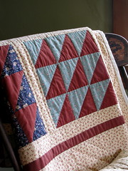 Vintage Quilt - Martin's House (Patchwork Daily Desire) Tags: doon heritage village museum vintagequilt flower tree church patchworkdailydesire summer spring sky sweet sun