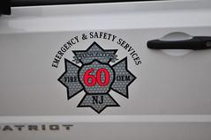 Princeton Fire Department Fire Marshal 60 (Triborough) Tags: nj newjersey mercercounty princeton pfd princetonfiredepartment firetruck fireengine firemarshal firemarshal60 jeep patriot