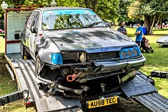 (5) Damage Ford Sierra XR 4X4 (John Tif) Tags: 2017 crystalpalace fordsierraxr4x4 car motorspot