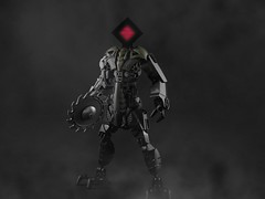 The Harbinger (Anthony (The Secret Walrus) Wilson) Tags: bionicle lego moc creation photo edit scifi robot hyper light drifter judgement afol tfol