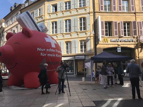 Vollgeld-Tour Neuenburg