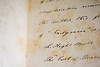 Endymion (oliverivorybray) Tags: 2017 hughendenmanor nationaltrust letter writing cursive text handwriting vintage old historic historical stained mottled endymion