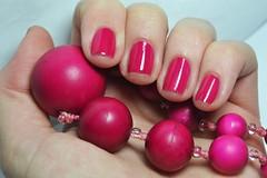 """Desafio Segura a coisa #2: """"Alheia"""" + Outubro Rosa. Formosa - Laccor. (Raíssa S. (:) Tags: pink esmalte rosa unhas nails nailpolish naillacquer cremoso laccor outubrorosa seguraacoisa"""