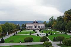 Melk (Autriche) : le Gartenpavillon (bernarddelefosse) Tags: melk autriche abbaye gartenpavillon