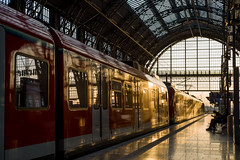 Waiting to come home (mripp) Tags: art vintage retro old bahnhof railway sunset train mobile mobility leica m10 summicron 50mm contra sun sunny mellow longing home