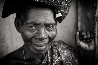 Ghana, old lady