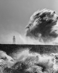 A Wave Called Brian (Eddie Hyde ARPS) Tags: storm newhaven sussex landscape seascape wave brian