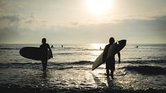 Golden Waves (John Walters vl) Tags: waves sea seascape ocean water surf surfing surfboard photographer sky skyscape light explore beach sunny adventure sport california wildlife love longboard blackandwhite surfer infinite gold landscape