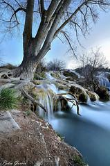 Waterfall Ruidera , Laguna Salvadora (Peideluo) Tags: water tree nature landscape cielo agua árbol roca paisaje río elitegalleryaoi bestcapturesaoi aoi