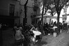 gerone sl350182 (L.la) Tags: gerona gérone girona catalogne espagne espana eu europe europa voigtländer skoparex 21mm grandangle wideangle rollei rolleiflex rolleiflexsl35 sl35 sl35m film argentique noiretblanc nb blackandwhite bw ilfordfp4 ilford fp4 lc29 35mm 24x36 135 scanner epson epsonv600 v600 street stphotographia urban