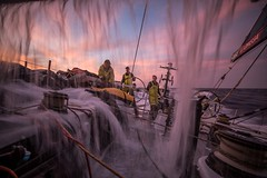 Leg 01, Alicante to Lisbon, day 04,  on board Brunel. Photo by Martin Keruzore/Volvo Ocean Race. 26 October, 2017
