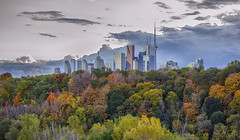 City on the Hill (Paul B0udreau) Tags: autumncolours cityskyline toronto canada ontario niagara paulboudreauphotography nikon nikond5100 photoshop layer nikkor50mm18 digitalartscenecertifiedexcellence specialexoticaward exoticimage sincity sincityexcellence poeexcellence pinnaclephotography artdigital artdigitalexcellence