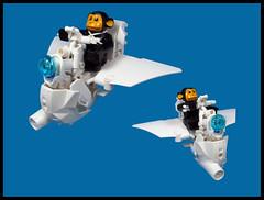 Duplotian Monkey Flyer (Karf Oohlu) Tags: lego duplo monkey flyer scifi moc speeder speederbike