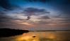 Just after the sunset !! (Kaushik.N.Rao) Tags: nature colors sunset beautiful landscape dusk river bridge coastal boat canon photography sky karnataka india 2k17 travel