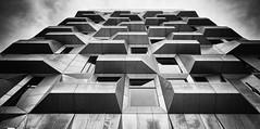 The Silo (Bo Hvidt) Tags: thesilo nordhavn copenhagen apartments fujifilmxt2 xt2 fujinonxf1024mmf4rois xf1024mm bohvidt blackwhite bw blackandwhite monochrome nik nikcollection silverefex