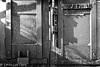 Doorway (lorinleecary) Tags: lock cambria rust iron california blackandwhite centralcoastcalifornia door