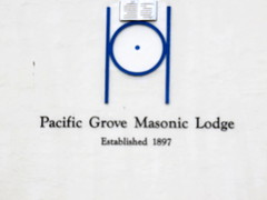20160819 Californie Pacific Grove - Temple maçonnique (2) (anhndee) Tags: usa californie california pacificgrove voituresanciennes classiccars